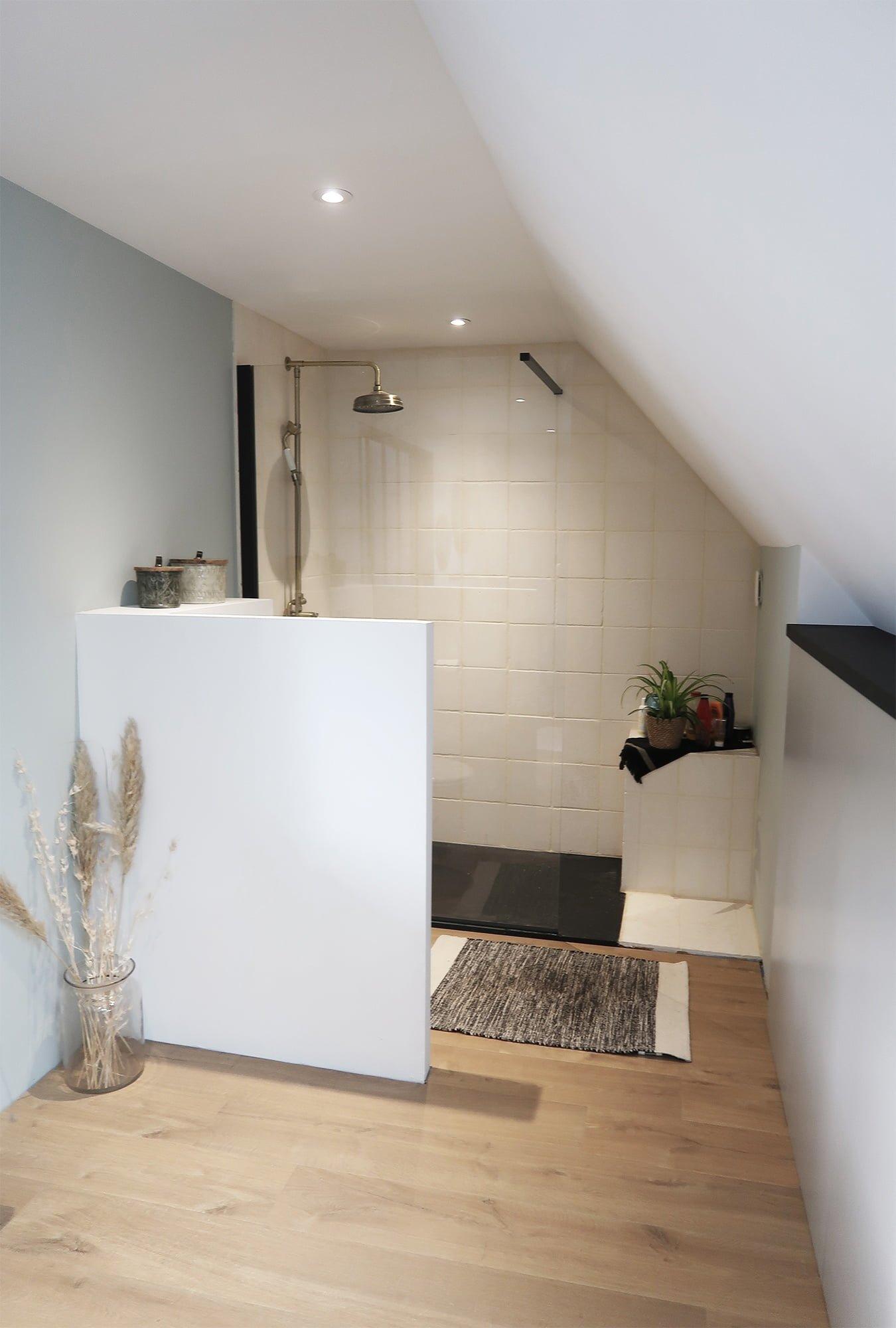 salle de bain douche agencement ls studio architecte intérieur vannes