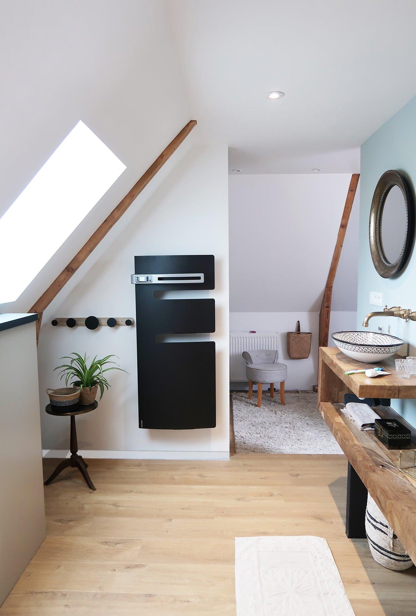 salle de bain suite parentale réalisation sur mesure ls studio architecte vannes