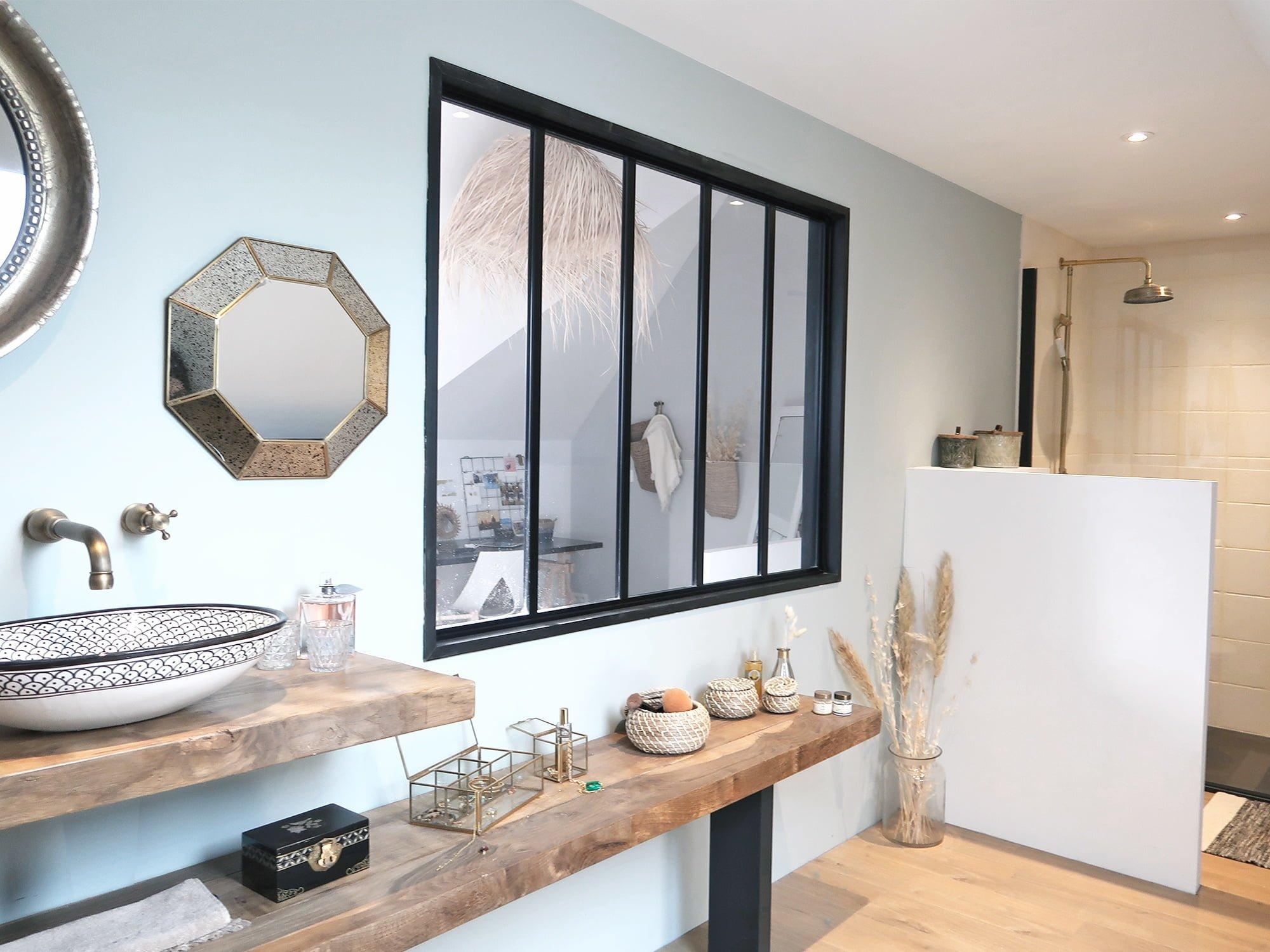 salle de bain vasque agencement architecte intérieur vannes