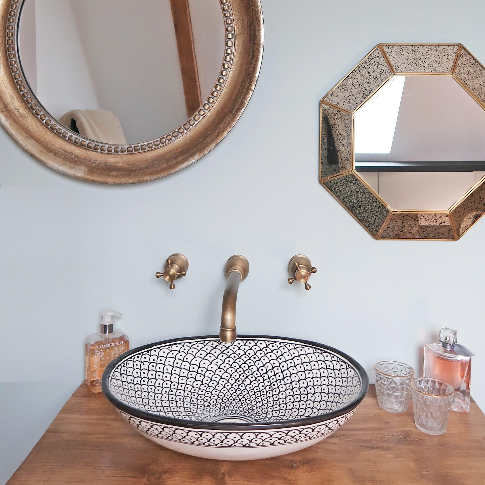 salle de bain vasque architecte intérieur ls studio vannes