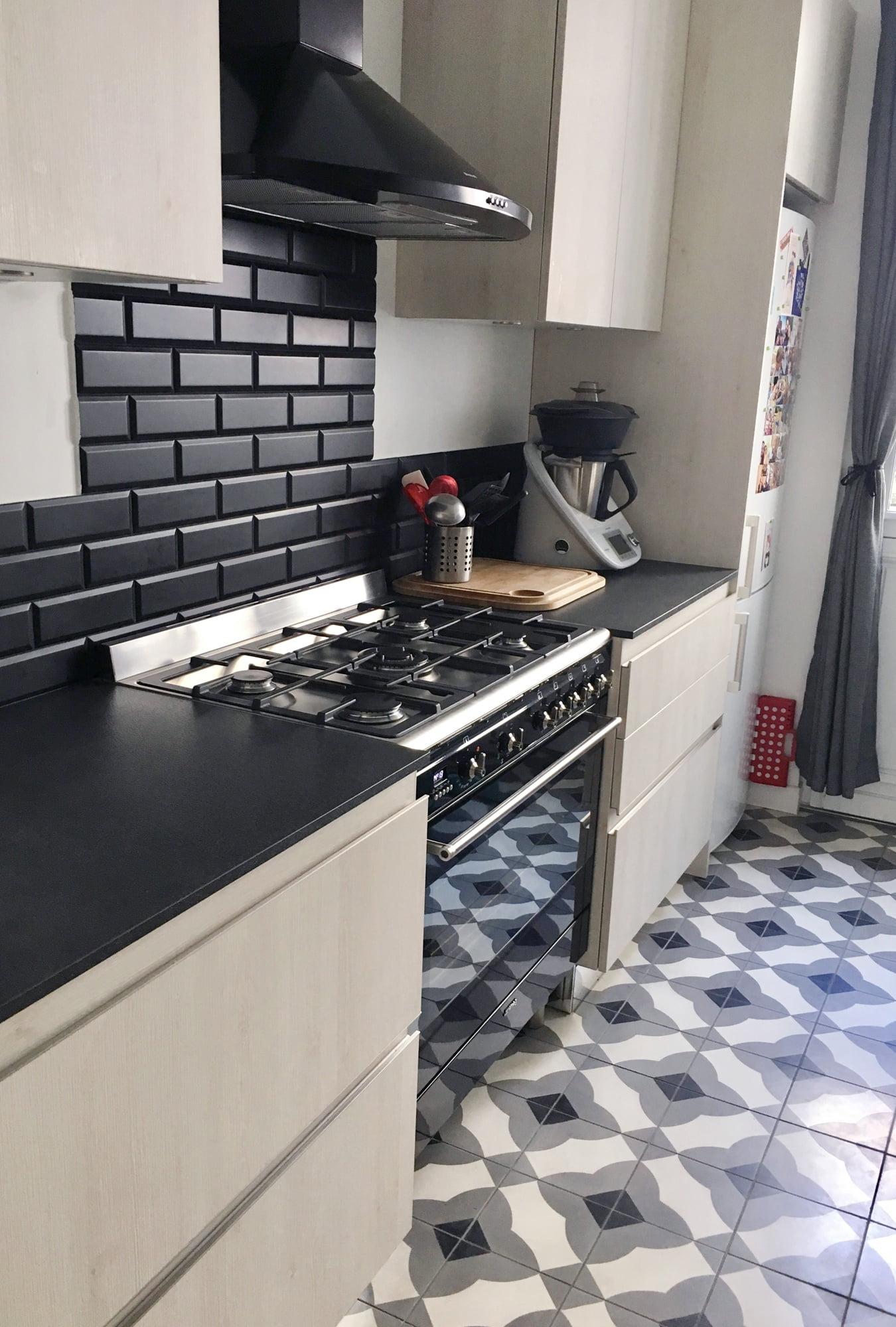 cuisine implantation piano ls studio architecte intérieur vannes