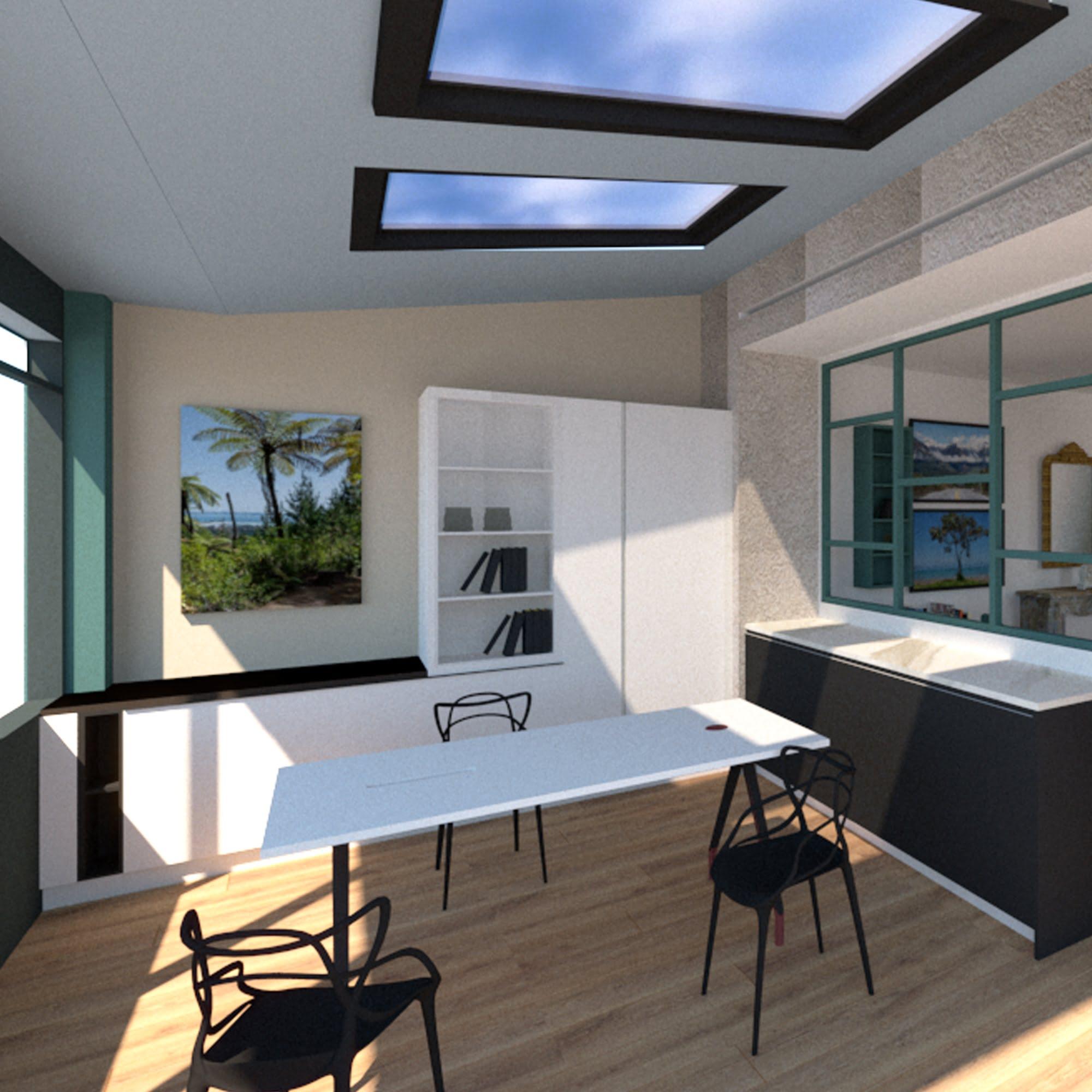 projet showroom ls studio 3D ls studio architecte intérieur vannes