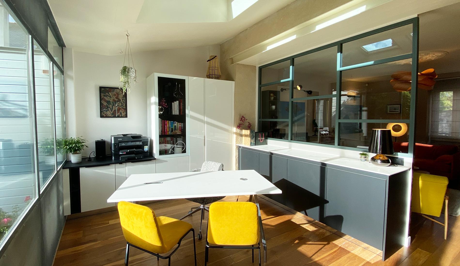 3D showroom locaux ls studio architecte intérieur vannes