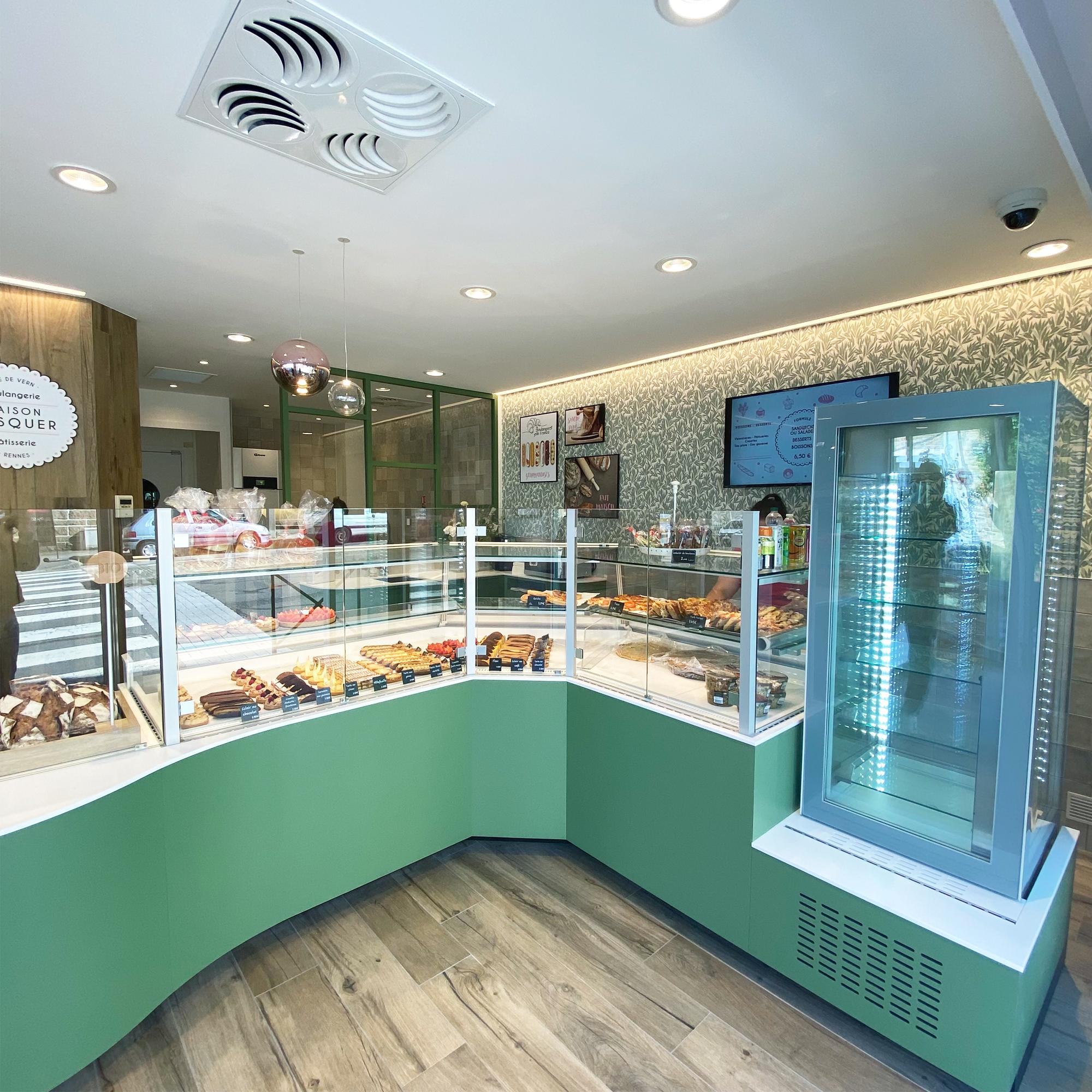Design intérieur détails rénovation boulangerie rennes architecture