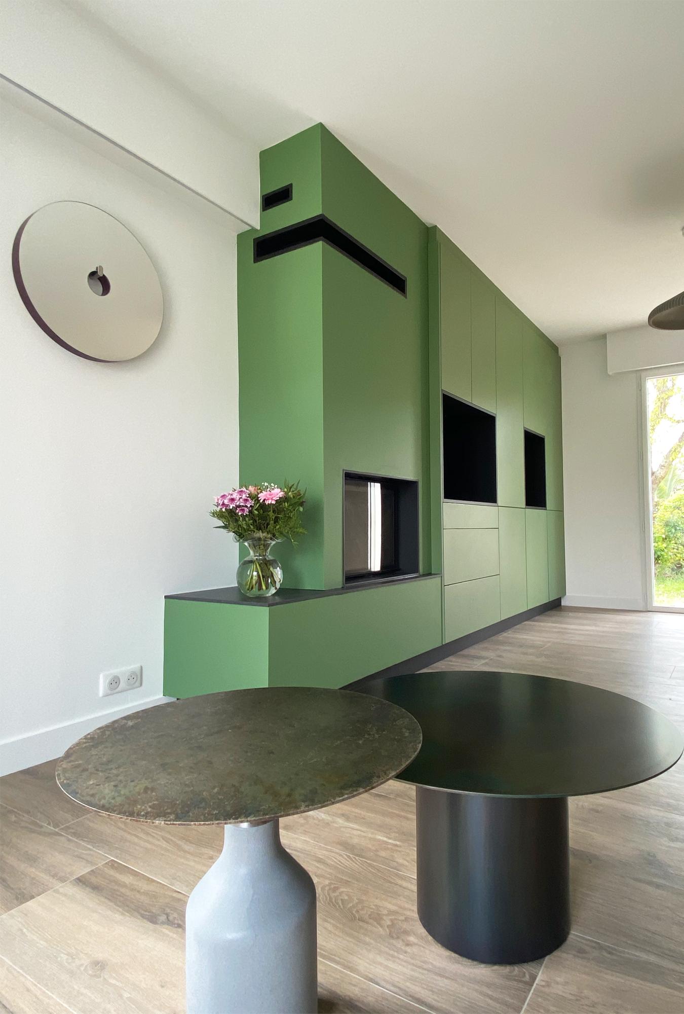 agencement architecture interieur mobilier sur mesure