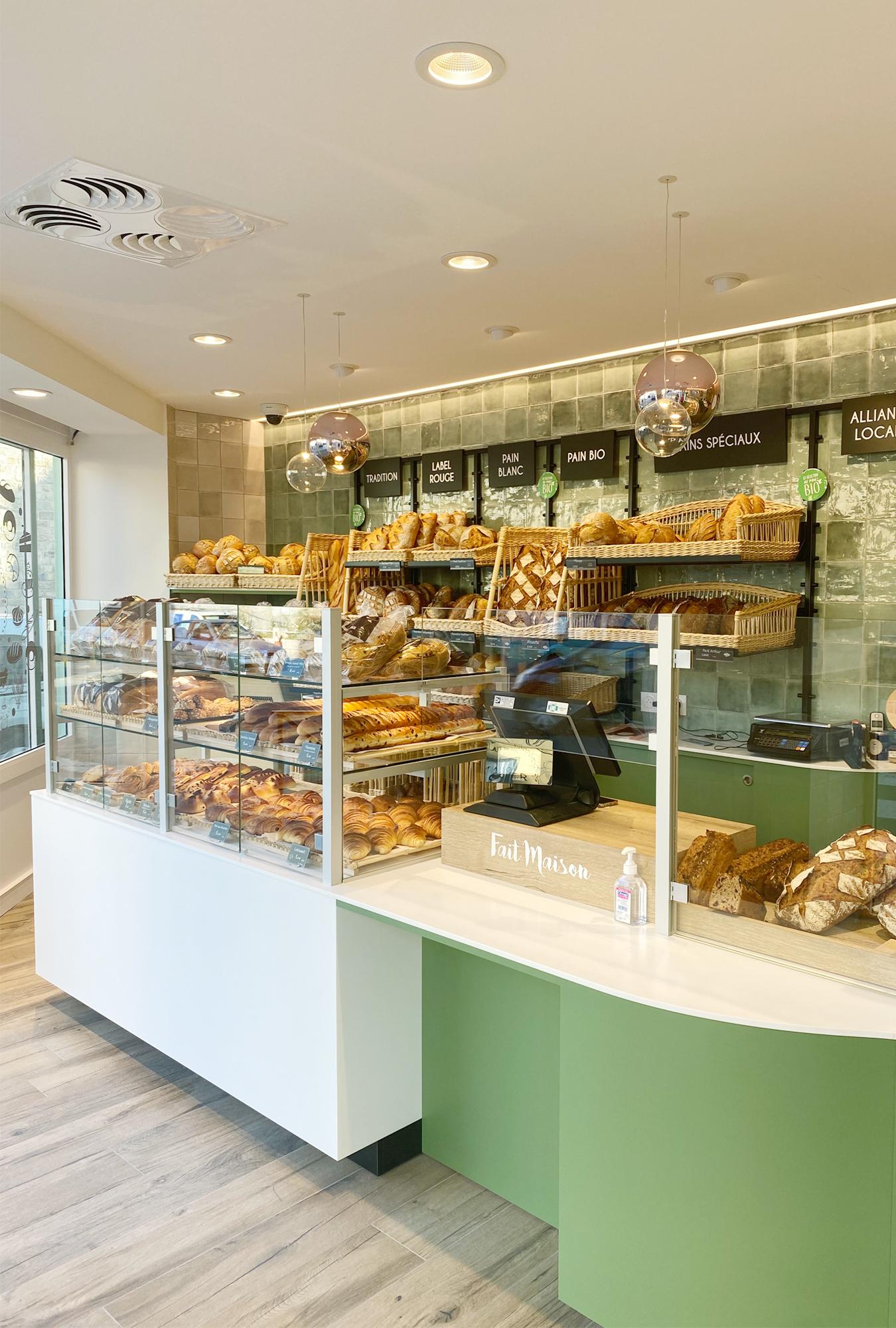 intérieur rénovation boulangerie rennes architecture