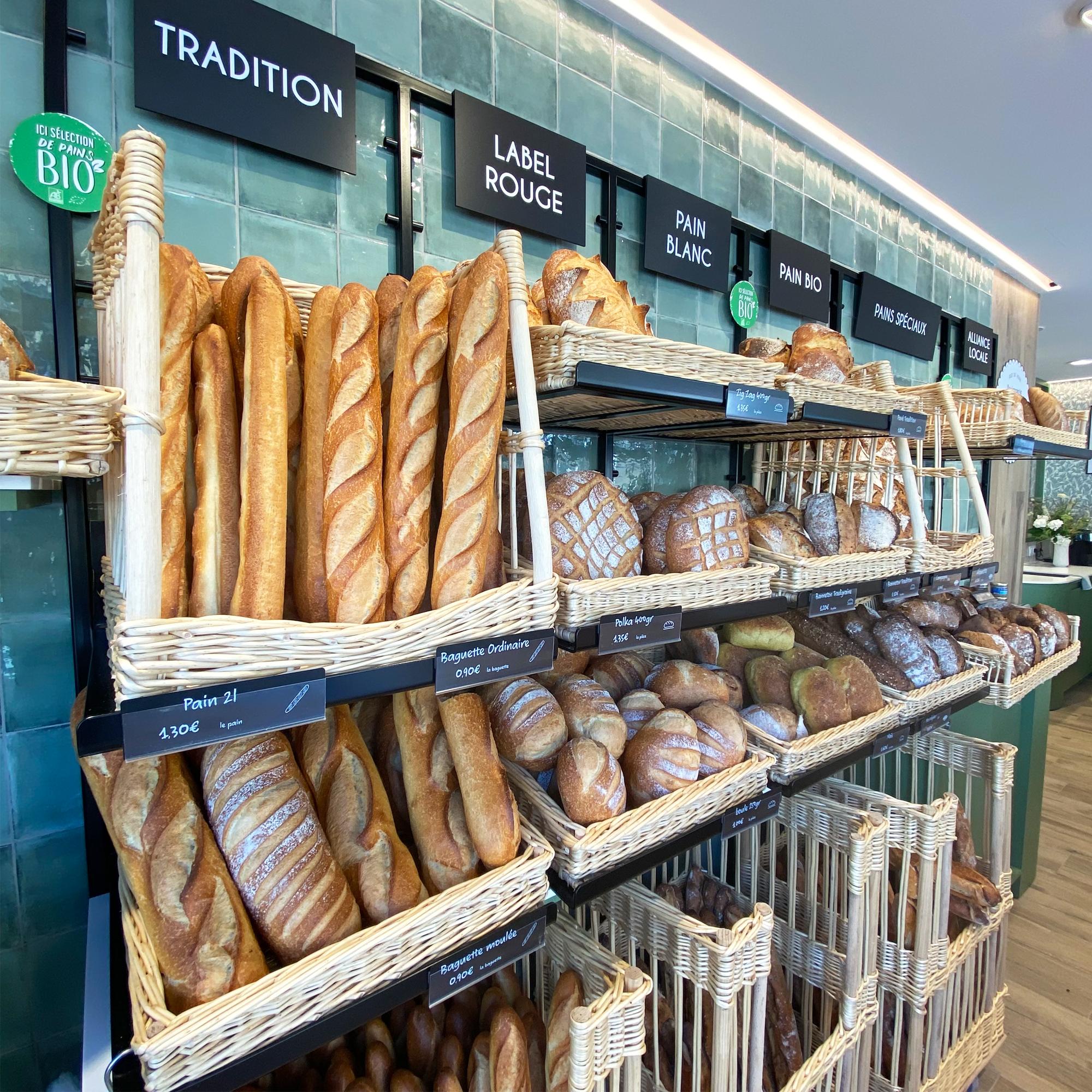 intérieur sur mesure rénovation boulangerie rennes architecture