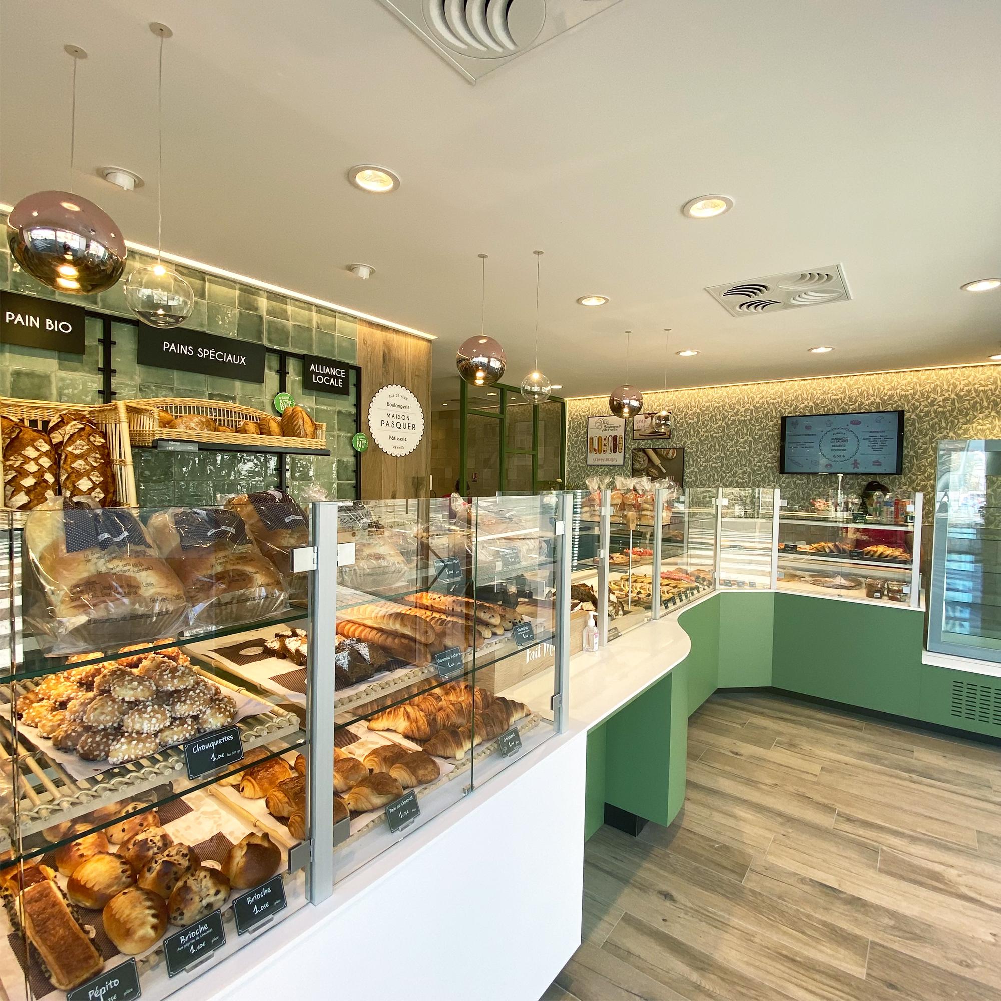 projet intérieur rénovation boulangerie rennes architecture