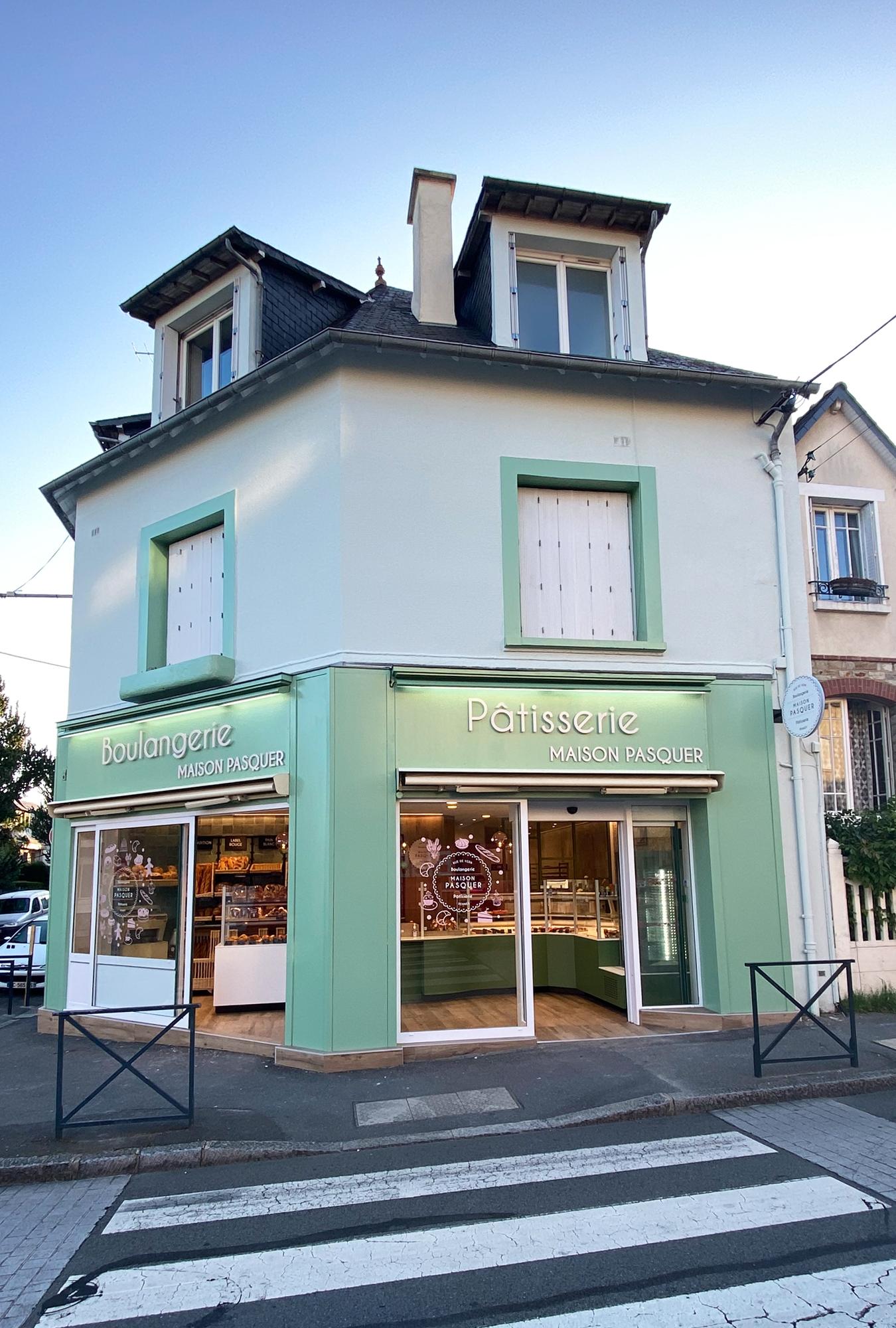 projet rénovation boulangerie rennes architecture